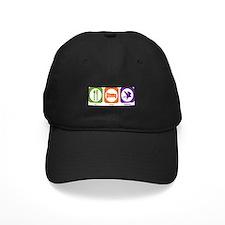 Eat Sleep Falconry Baseball Hat