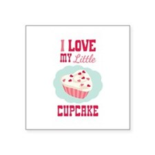 I LOVE MY Little CUPCAKE Sticker