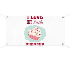 I LOVE MY Little CUPCAKE Banner