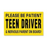 "Car magnet, student driver 12"" x 20"""