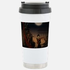 samurai vs zombies Travel Mug