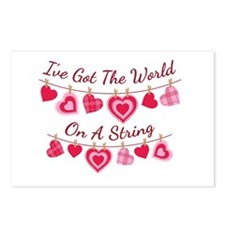 Ive Got The World On A String Postcards (Package o