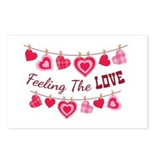 Feeling The LOVE Postcards (Package of 8)