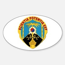 DUI - 500th Military Intelligence Group Decal