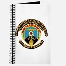 DUI - 500th Military Intelligence Group with Text