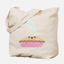 Pie Hearts Tote Bag
