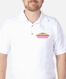 Pie Hearts Golf Shirt