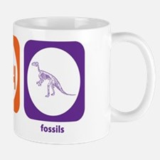 Eat Sleep Fossils Mug