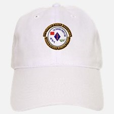 USMC - 1st Shore Party Battalion with Text Baseball Baseball Cap