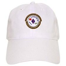 USMC - 1st Shore Party Battalion with Text Baseball Cap
