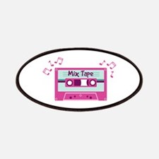 Mix Tape Music Notes Patches