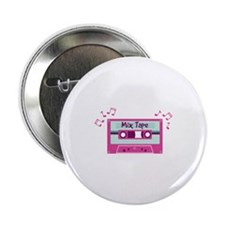 "Mix Tape Music Notes 2.25"" Button"