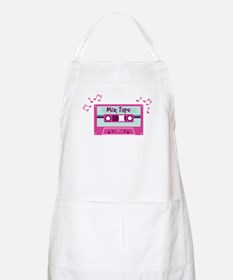 Mix Tape Music Notes Apron