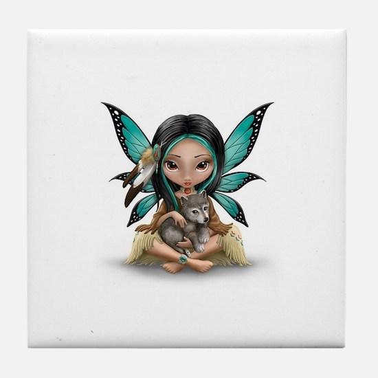native darling Tile Coaster