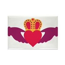 Claddagh Heart Crown Magnets
