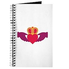 Claddagh Heart Crown Journal