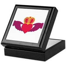 Claddagh Heart Crown Keepsake Box