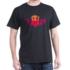 Claddagh Heart Crown T-Shirt