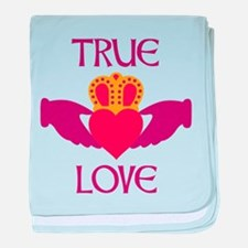 TRUE LOVE baby blanket