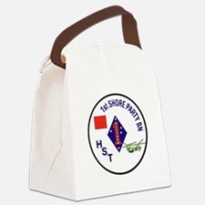 USMC - 1st Shore Party Battalion Canvas Lunch Bag