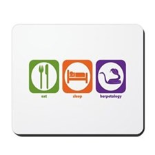 Eat Sleep Herpetology Mousepad