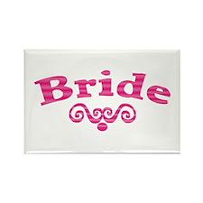 Fancy Bride Rectangle Magnet