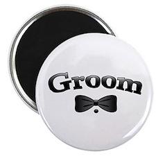 """Tuxedo Groom 2.25"""" Magnet (10 pack)"""