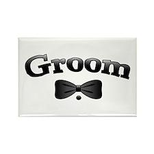 Tuxedo Groom Rectangle Magnet