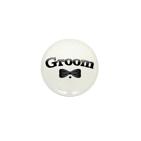 Tuxedo Groom Mini Button (10 pack)