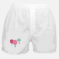 Hot Air Balloon Hearts Boxer Shorts