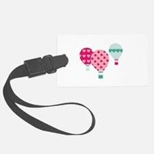 Hot Air Balloon Hearts Luggage Tag