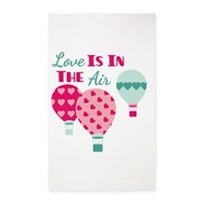 Love IS IN THE Air 3'x5' Area Rug