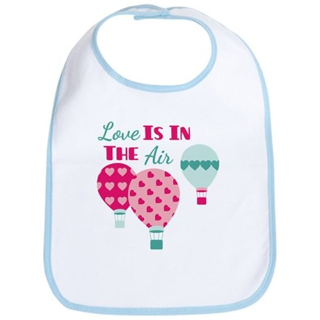 Love IS IN THE Air Bib