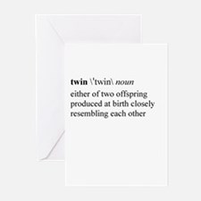 Twin Greeting Cards (Pk of 10)