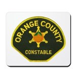 Orange County Constable Mousepad