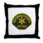 Orange County Constable Throw Pillow