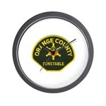 Orange County Constable Wall Clock