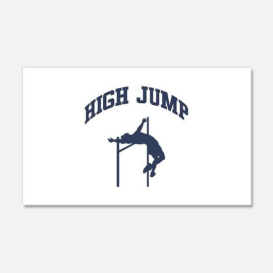 High Jump Wall Decal