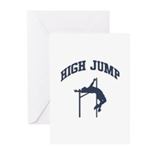 High Jump Greeting Cards (Pk of 10)