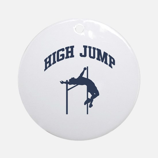 High Jump Ornament (Round)