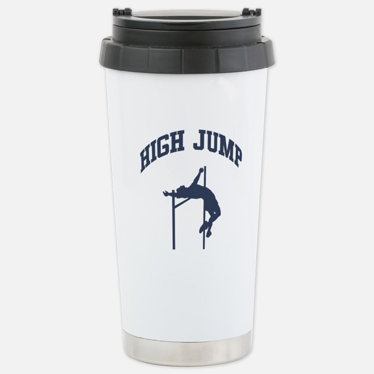 High Jump Stainless Steel Travel Mug