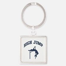 High Jump Square Keychain