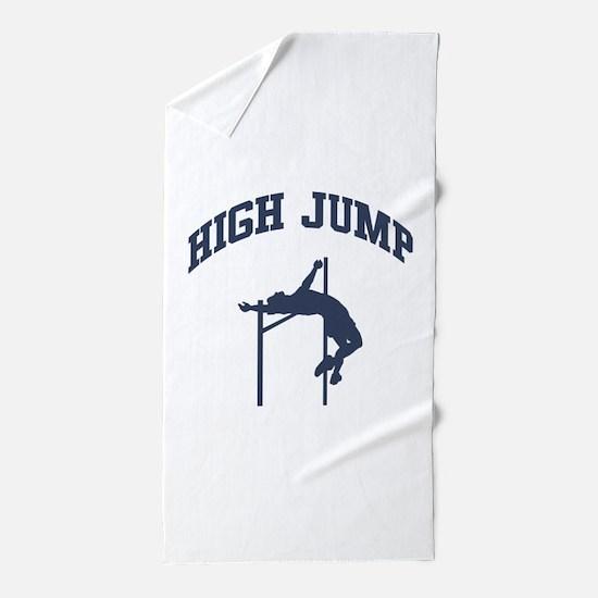 High Jump Beach Towel