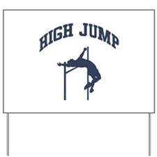 High Jump Yard Sign