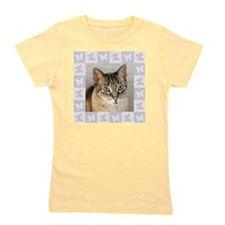 Hannah--Cat Portrait Girl's Tee