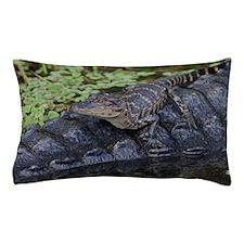 Alligator Baby & Mom Pillow Case