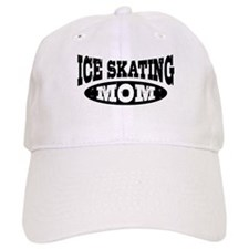 Ice Skating Mom Baseball Cap