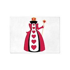 Queen Of Hearts 5'x7'Area Rug