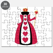 Queen Of Hearts Puzzle