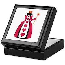 Queen Of Hearts Keepsake Box